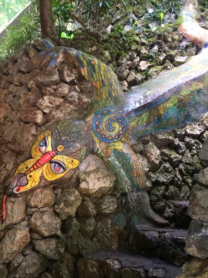 Tam-Awan-Lizard