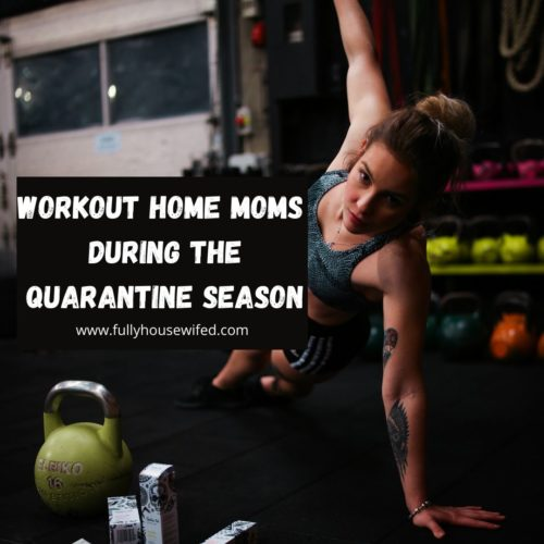 workout home moms